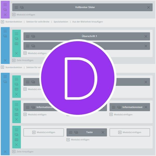 WordPress: Texte und Bilder im Divi-Theme bearbeiten (Standard)
